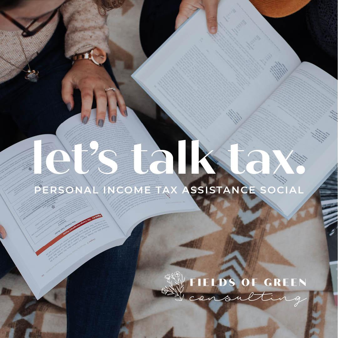 Personal Income Tax Return Checklist